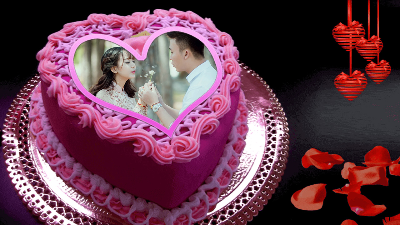 Bánh sinh nhật tình yêu