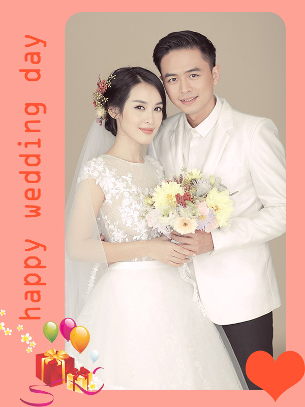 Happy wedding day online