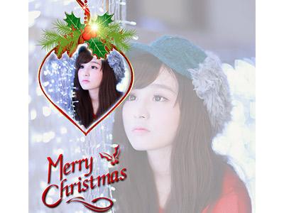 Quả cầu merry christmas đẹp