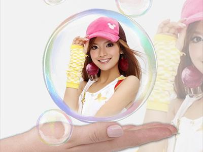 Hiệu ứng bong bóng xà phòng đẹp