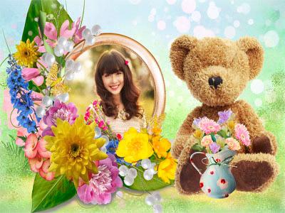 Chú gấu dễ thương