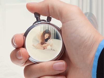 Đồng hồ quả quýt đẹp