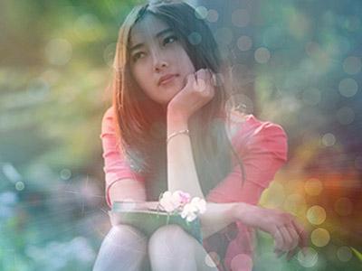 Ghép ảnh với hiệu ứng ánh sáng lung linh