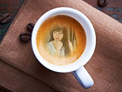 Hiệu ứng tách cafe đẹp