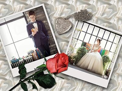 Khung ảnh cưới đôi
