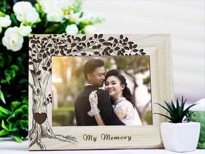 Khung ảnh gỗ kỷ niệm cưới, khung ảnh đẹp