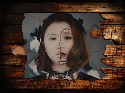 Khung ảnh Halloween 5