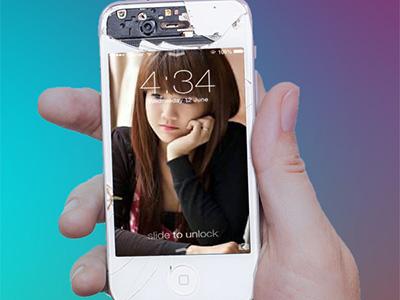 Khung ảnh iphone ấn tượng