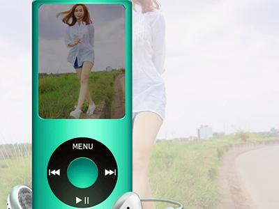 Hiệu ứng khung ảnh ipod đẹp