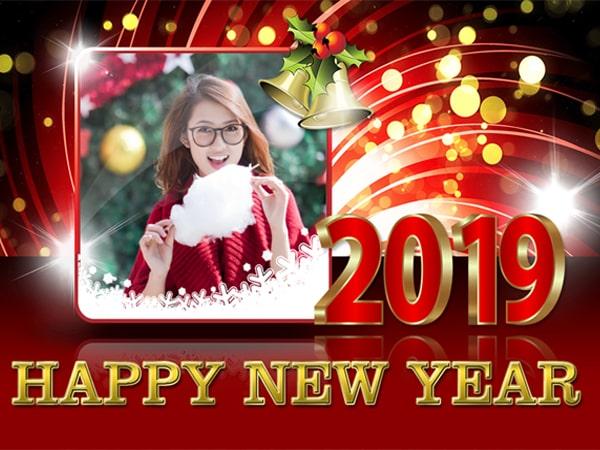 Ghép ảnh năm mới 2019 rực rỡ