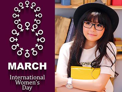Khung ảnh quốc tế phụ nữ
