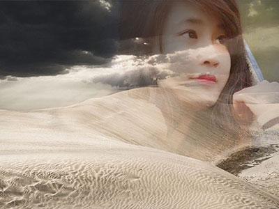 Khung ảnh sa mạc