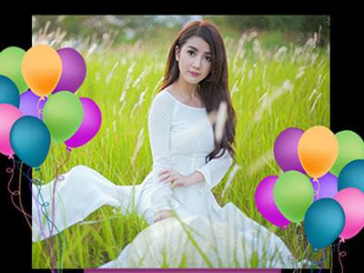Khung chúc mừng sinh nhật