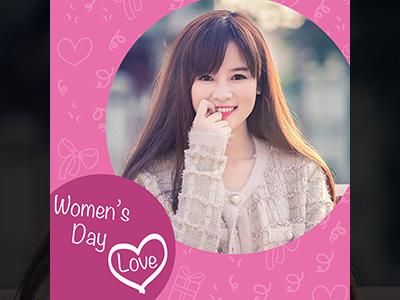 Khung ảnh women's day love