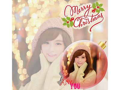 Quả cầu merry christmas