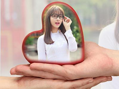 Trái tim tình yêu ấn tượng