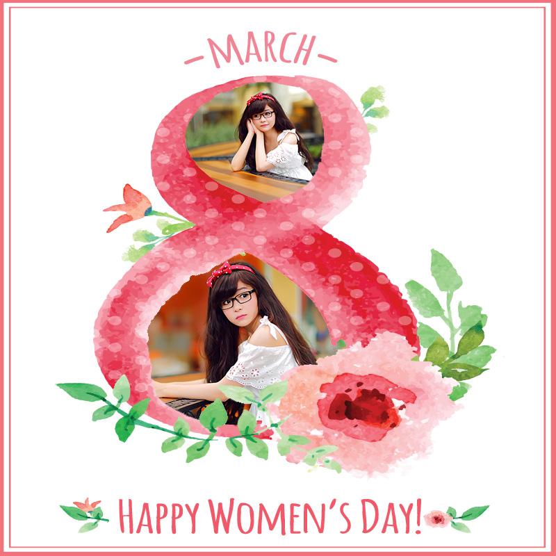 Thiệp chúc mừng quốc tế phụ nữ trực tuyến