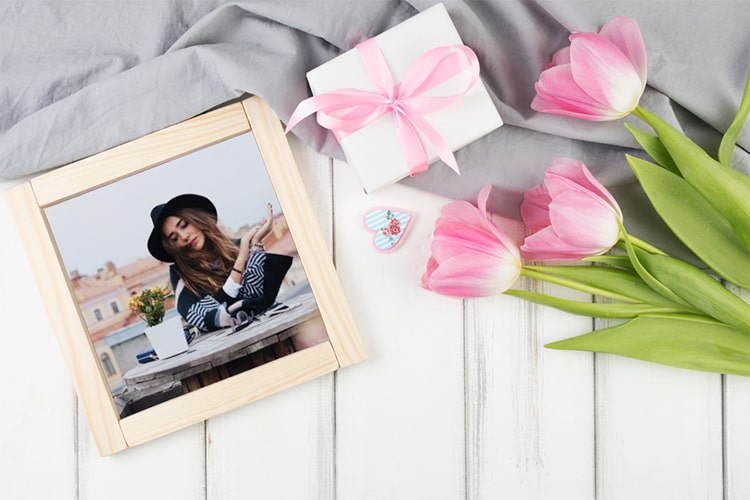 Ghép ảnh khung ảnh hoa kỷ niệm