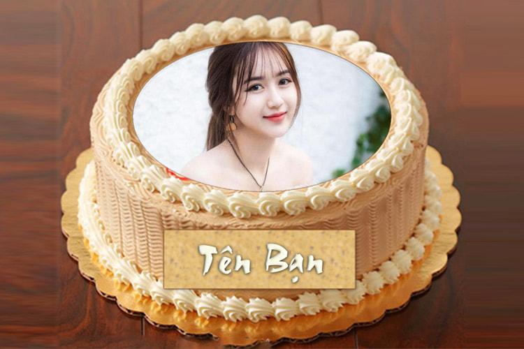 Ghép hình vào bánh sinh nhật online