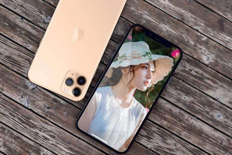 Tạo khung ảnh Iphone 11 trực tuyến
